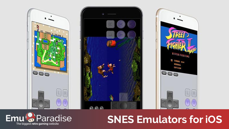 snes emulators for iOS and mac
